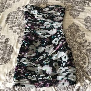 BCBG Maxazria Winnie Strapless Cocktail Dress